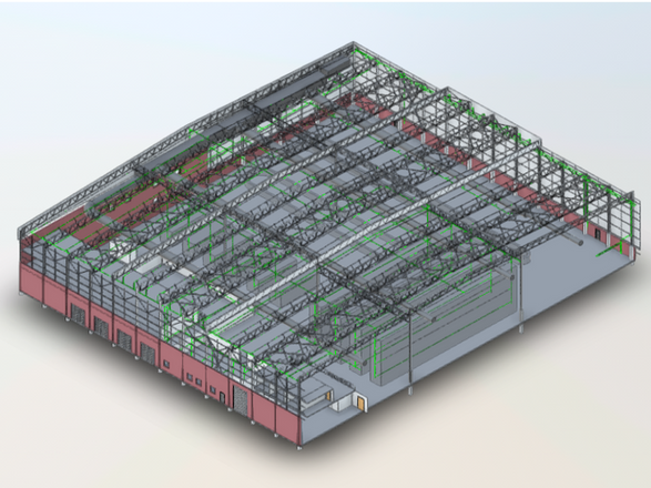 Warehouse as-built 1
