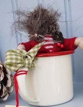Christmas Hug in a Mug