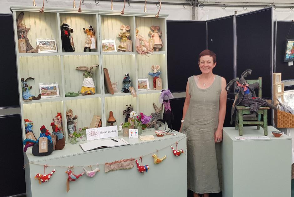 Michelham Priory Sussex Guild craft show