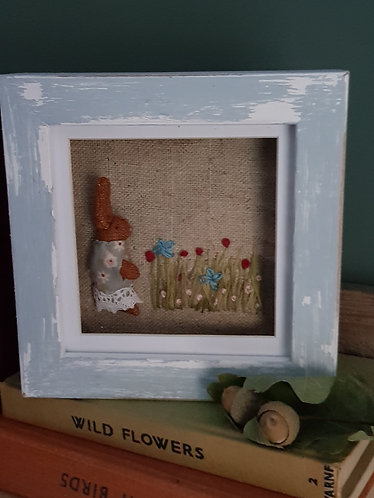 Hare in a box frame