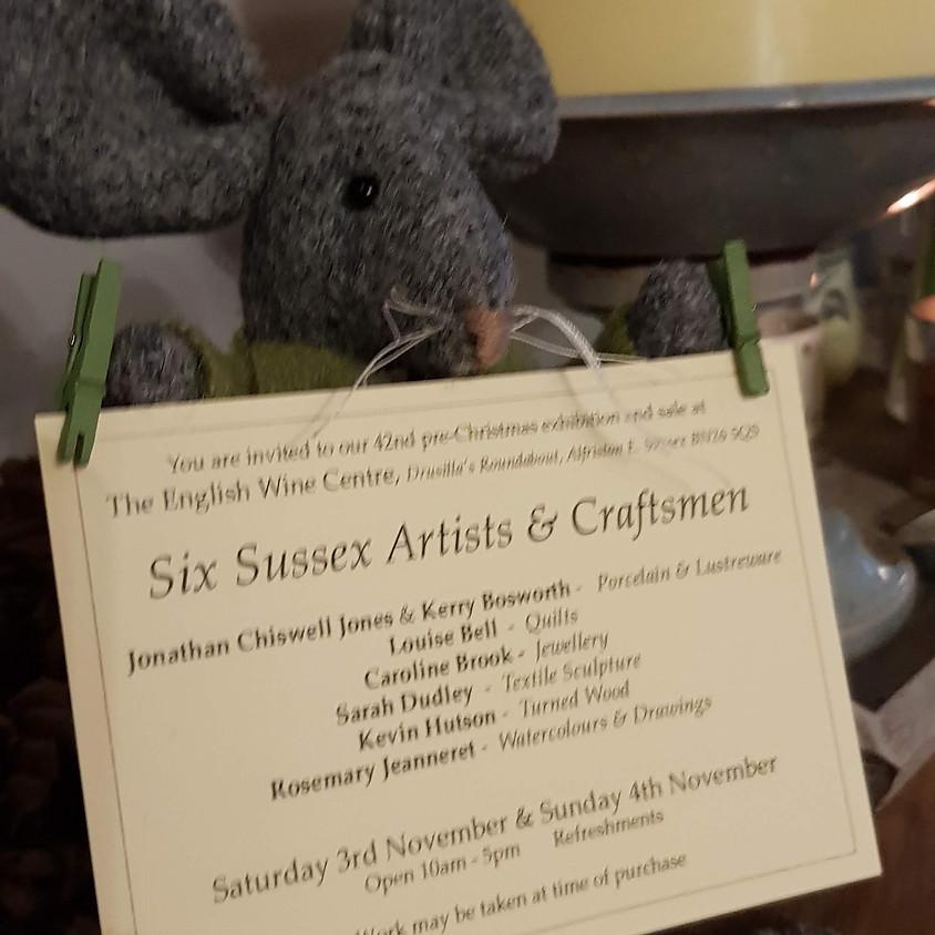 Six Sussex Artists & Craftsmen