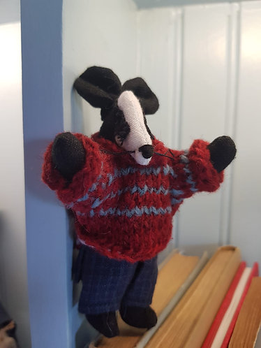 Miniature Collectable Badger