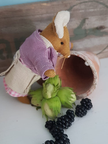 Miniature Collectable Mouse