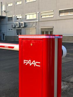 Schrankenanlage FAAC