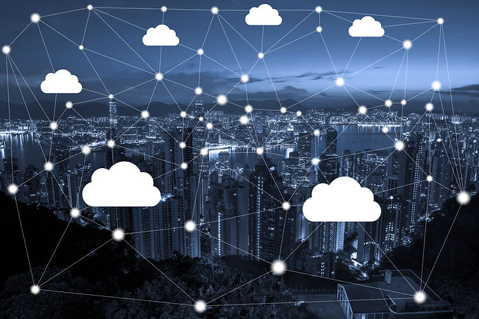 Network connection and cloud storage tec