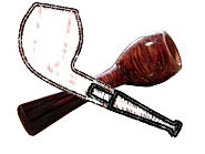 Devil Anse briar smoking pipe