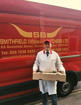 Smithfield Butchers, Delivery, London, B