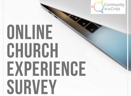Online Church Experience Survey