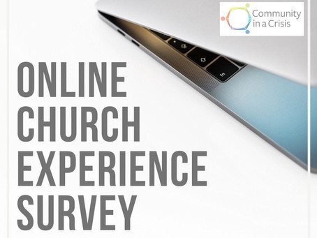 Online Church Experience Survey