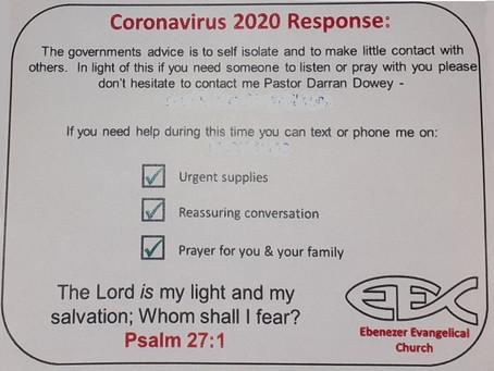 A church's coronavirus response