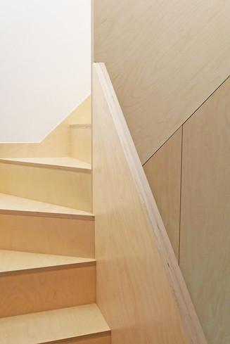 Birch Plywood Stair
