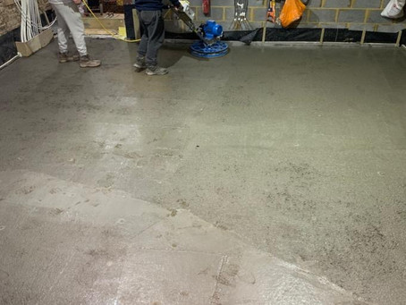 Polished Concrete in Gloucester Road
