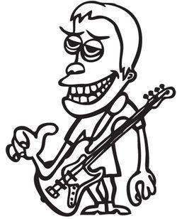 cartoon-musician
