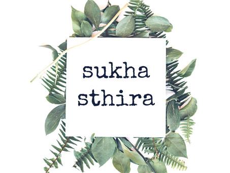 Asana. Sthira-Sukha.