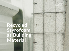 Recycled material for our high performance microhouse
