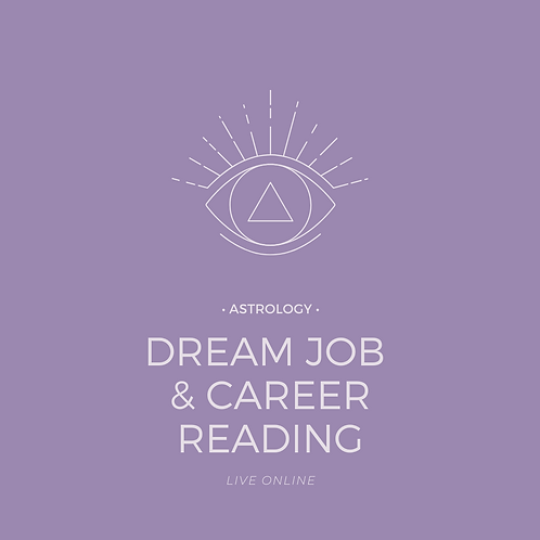 Astrology Energy Reading: Birth Chart Live (Dream Job & Career)