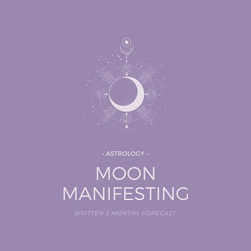 Moon Manifesting Energy Reading