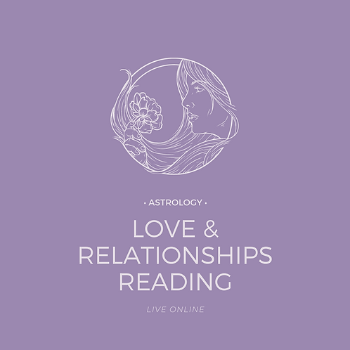 Astrology Energy Reading: Birth Chart Live (Love & Relationships)