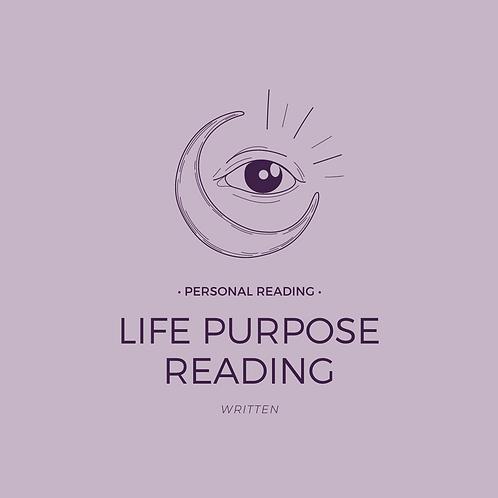 Life Purpose Energy Reading