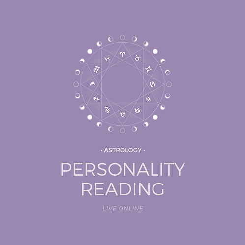 Astrology Energy Reading: Birth Chart Live (Personality)