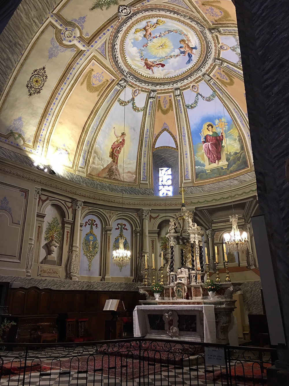 Eglise St Jean Baptiste, Fayence