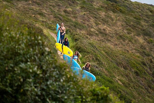Surf Safari Plage d'Erretegia à Bidart