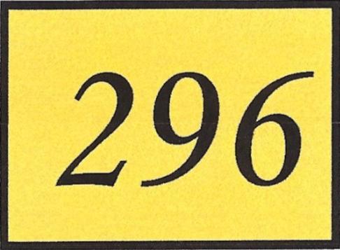 Number 296