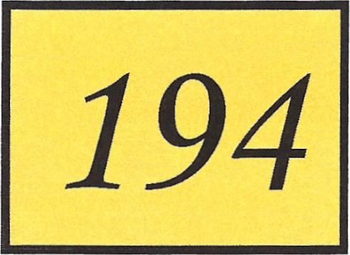 Number 194