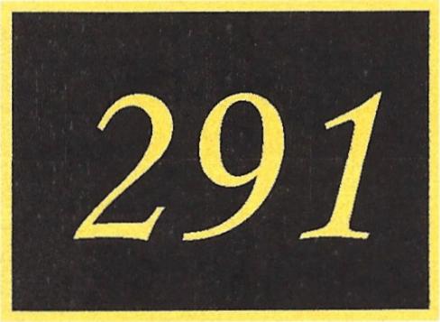 Number 291