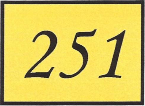Number 251