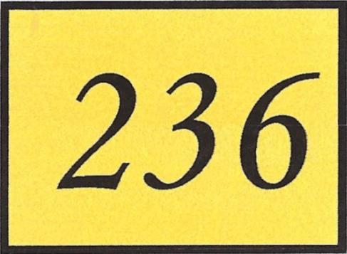 Number 236