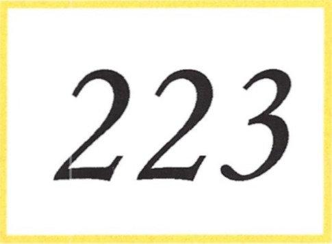 Number 223