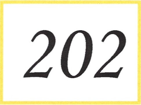 Number 202