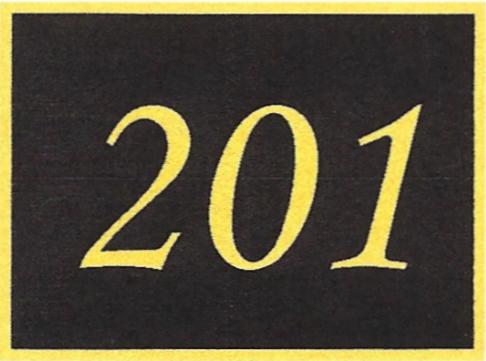 Number 201
