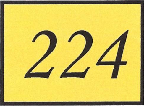 Number 224