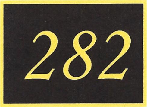 Number 282