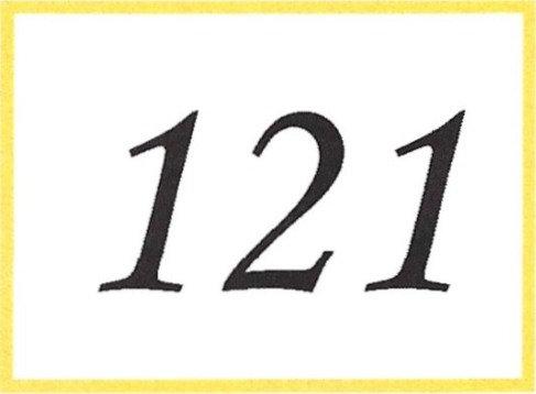 Number 121