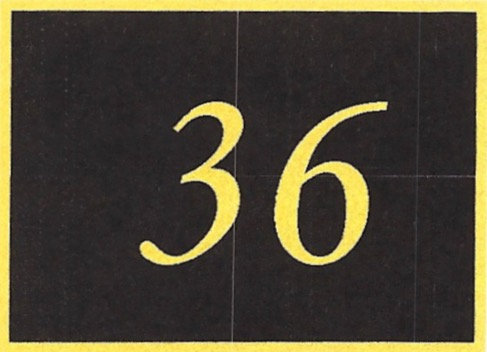 Number 36