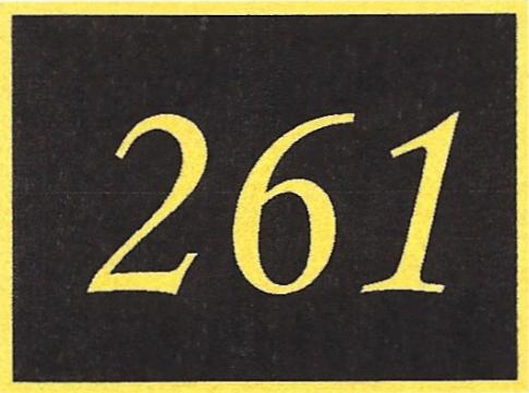 Number 261
