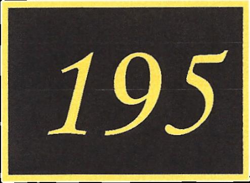 Number 195