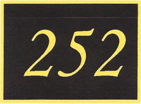 Number 252
