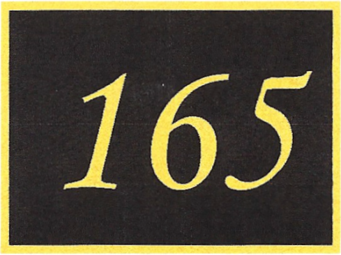 Number 165