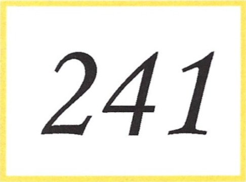 Number 241