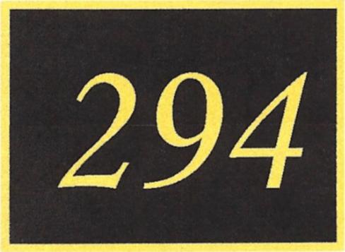 Number 294