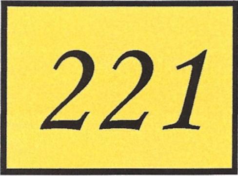 Number 221