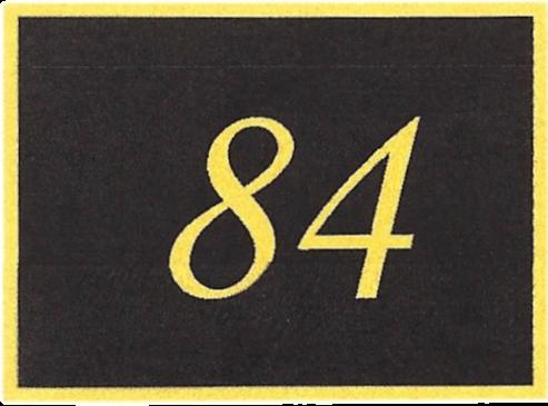 Number 84