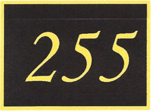 Number 255