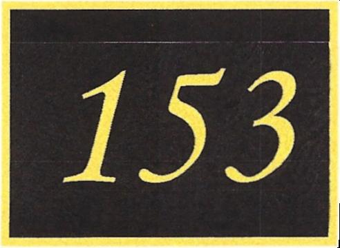 Number 153