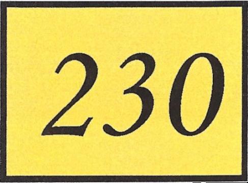 Number 230
