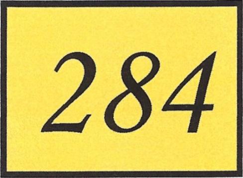 Number 284